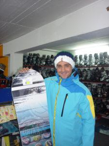 Snowboardlehrer Claus